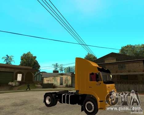 KAMAZ 5460M TAI version 1.5 for GTA San Andreas right view