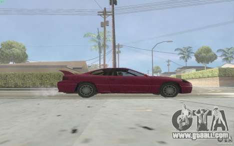 New Alpha for GTA San Andreas back left view
