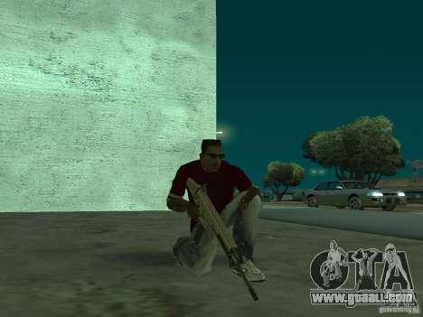 FN Scar-L HD for GTA San Andreas fifth screenshot