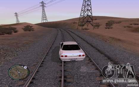 Russian Rails for GTA San Andreas seventh screenshot