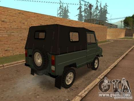 Luaz 969 m for GTA San Andreas back left view