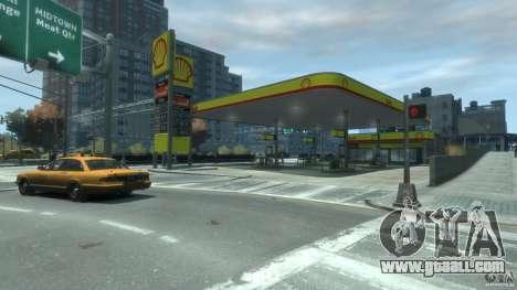 Shell Petrol Station V2 Updated for GTA 4 second screenshot