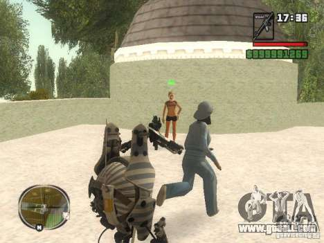 Robot from Portal 2 # 1 for GTA San Andreas forth screenshot