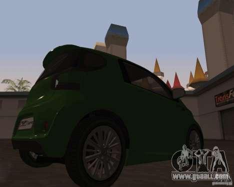 Aston Martin Cygnet Concept 2009 V1.0 for GTA San Andreas left view