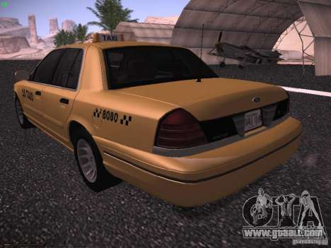 Ford Crown Victoria Taxi 2003 for GTA San Andreas right view