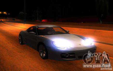 Porsche Cayman S for GTA San Andreas inner view