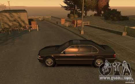 BMW 750iL (E38) v.3 for GTA 4 left view
