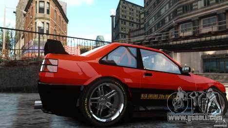 Futo GTRS for GTA 4 back left view
