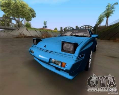 Mitsubishi Starion for GTA San Andreas left view