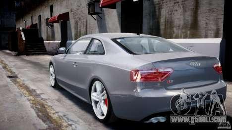 Audi S5 v1.0 for GTA 4 back left view