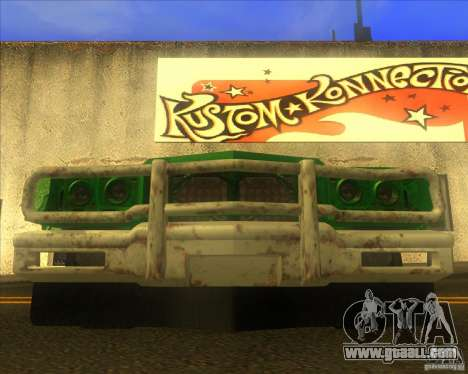 Jupiter Eagleray MK5 for GTA San Andreas upper view