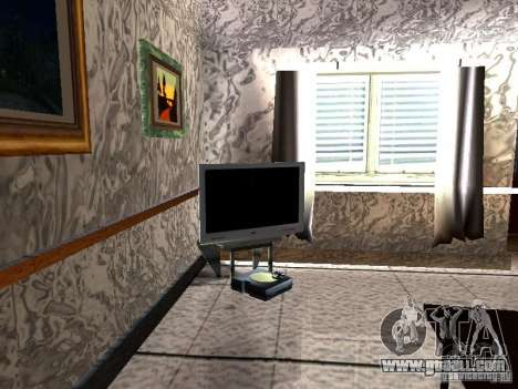New TV for GTA San Andreas second screenshot