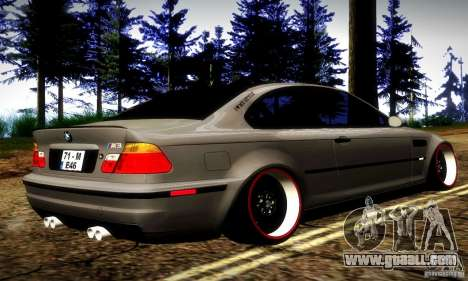 BMW M3 JDM Tuning for GTA San Andreas right view