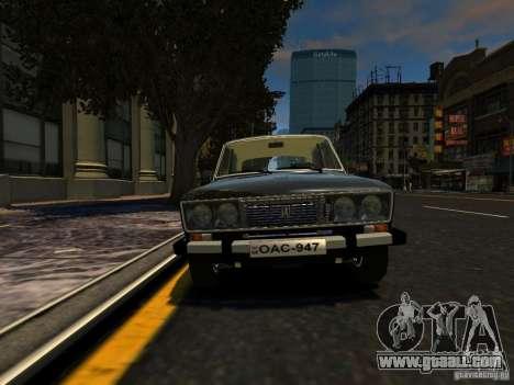VAZ 2106 for GTA 4 back left view