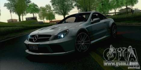 Mercedes-Benz SL65 AMG Black Series for GTA San Andreas right view