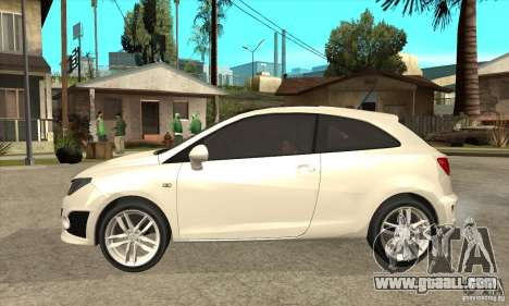 Seat Ibiza Cupra 2009 for GTA San Andreas left view