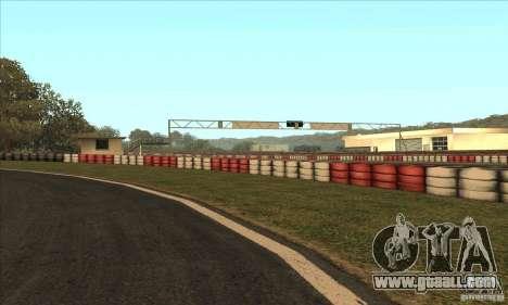 GOKART track Route 2 for GTA San Andreas fifth screenshot