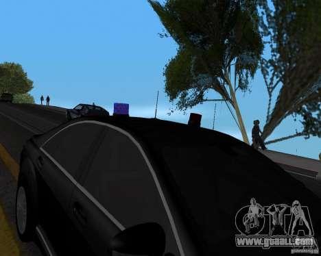 Emergency Lights for GTA San Andreas third screenshot