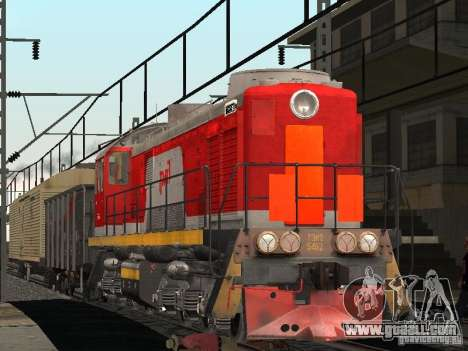 RAILWAY mod IV final for GTA San Andreas third screenshot