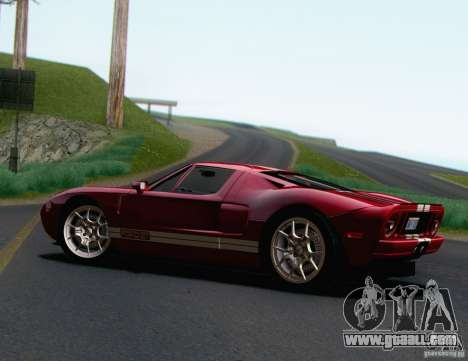 Ford GT 2005 for GTA San Andreas left view