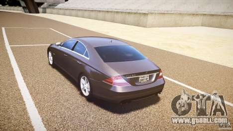Mercedes-Benz CLS 63 for GTA 4 right view