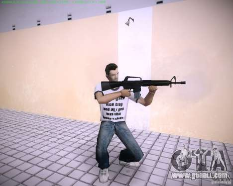 New M4 for GTA Vice City second screenshot