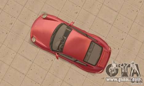 Porsche 911 (997) Carrera S v1.1 for GTA San Andreas right view