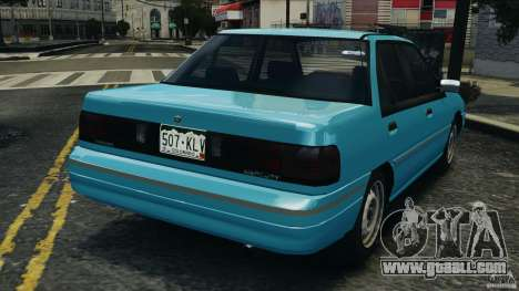 Mercury Tracer 1993 v1.1 for GTA 4 back left view