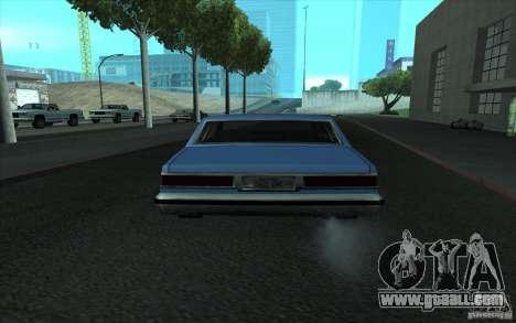 Civilian Police Car LV for GTA San Andreas side view