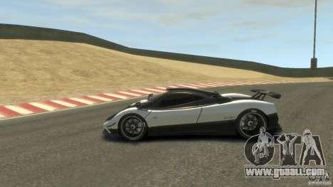 Pagani Zonda Cinque 2009 for GTA 4 left view