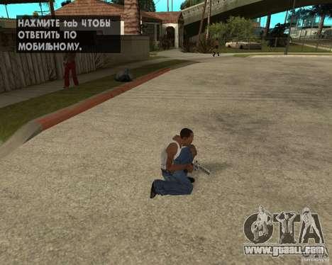 Magnum 22.2 for GTA San Andreas forth screenshot