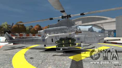 Bell AH-1Z Viper for GTA 4 left view