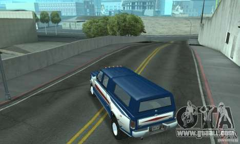 Ford F-350 1992 for GTA San Andreas engine