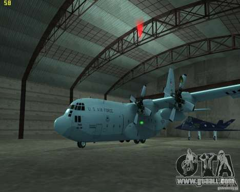 C-130 hercules for GTA San Andreas