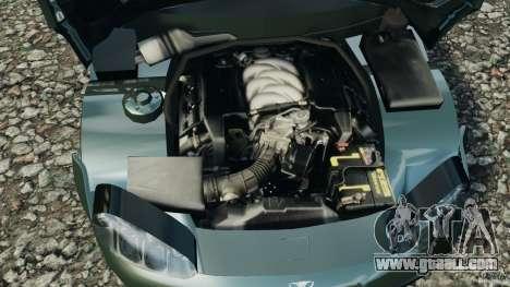 Daewoo Bucrane Concept 1995 for GTA 4 upper view