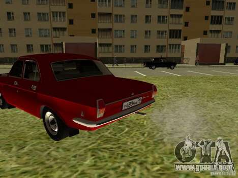 GAZ 24-10 Volga for GTA San Andreas back view