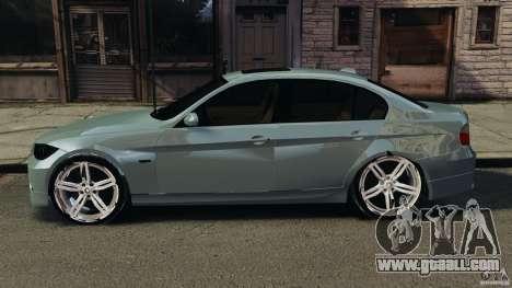 BMW 330i E92 for GTA 4 left view