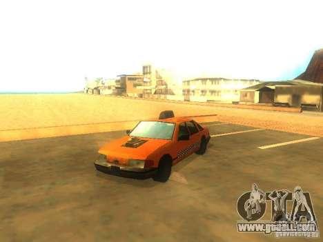 Crazy Taxi for GTA San Andreas