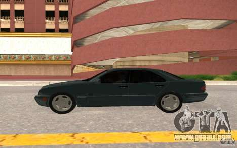 Mercedes Benz E420 W210 for GTA San Andreas back view