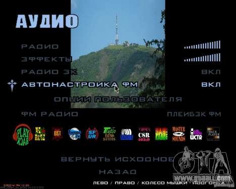 Loading screens Pyatigorsk for GTA San Andreas sixth screenshot
