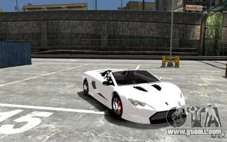 K1 Attack Concept for GTA 4 back view