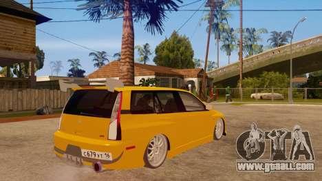 Mitsubishi Lancer Evolution IX Wagon MR Drift for GTA San Andreas right view