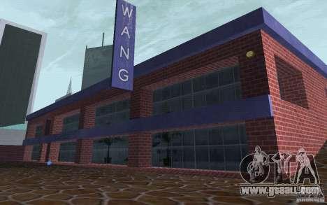 New car dealer Wang Cars for GTA San Andreas