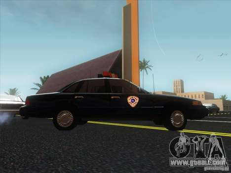 Ford Crown Victoria 1992 Detroit OCP for GTA San Andreas right view