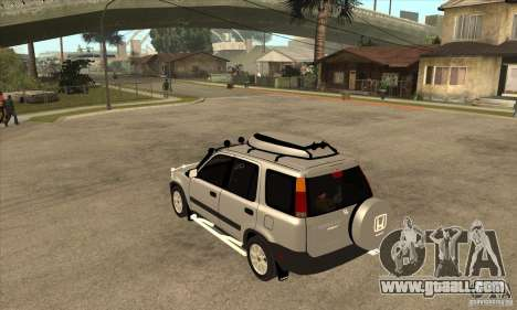 Honda CRV 1997 for GTA San Andreas back left view