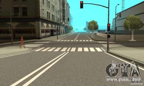 New Streets v2 for GTA San Andreas