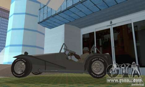 Lotus Seven for GTA San Andreas right view