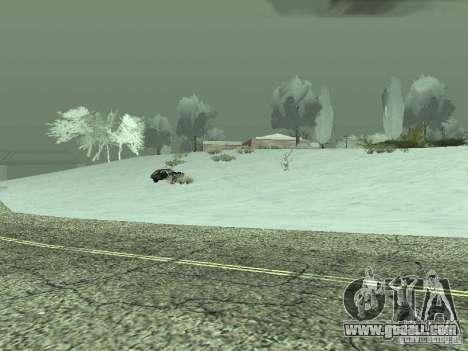 Frozen bone country for GTA San Andreas forth screenshot