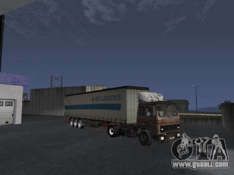 5551 MAZ Kolkhoz for GTA San Andreas bottom view
