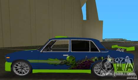 VAZ 2106 Tuning v3.0 for GTA Vice City back left view
